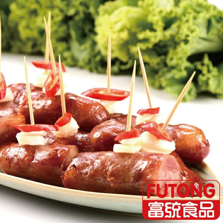 《全店499免運》【富統食品】紹興香腸 (1KG / 包;約15條) 3