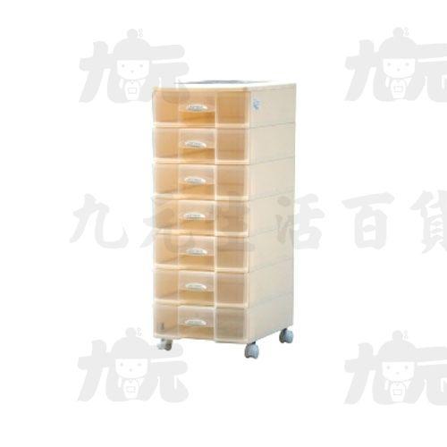 【九元生活百貨】聯府SU-007秘書七層資料櫃(附輪)置物櫃收納櫃SU007