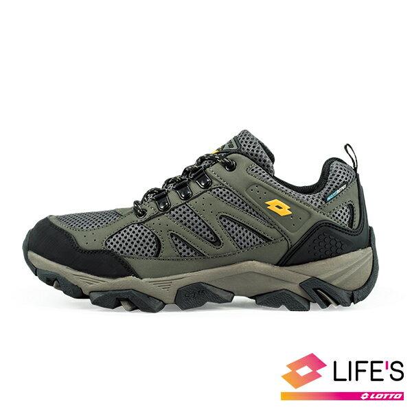 LOTTO樂得-義大利第一品牌 男款Sabre 3 戶外運動鞋 越野鞋 登山鞋 [1175] 軍綠【巷子屋】