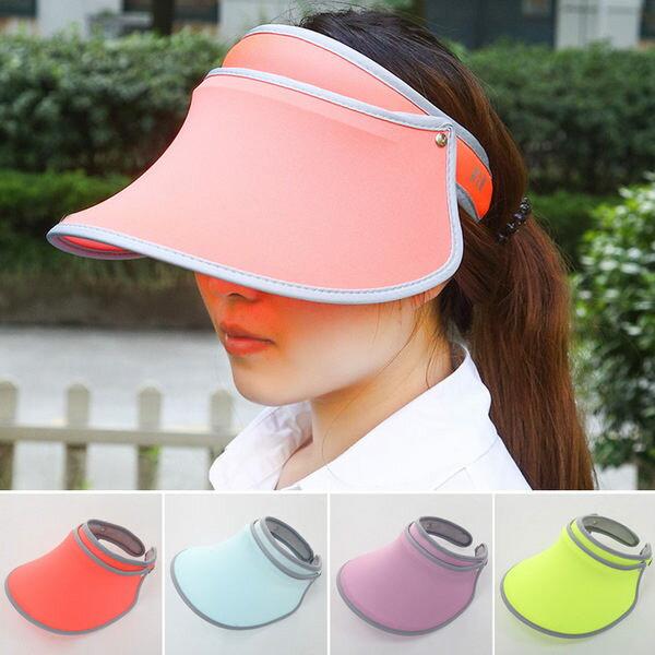 PS Mall 可伸縮遮陽帽 空頂帽太陽帽 防曬帽子 ~G2152~ ~  好康折扣
