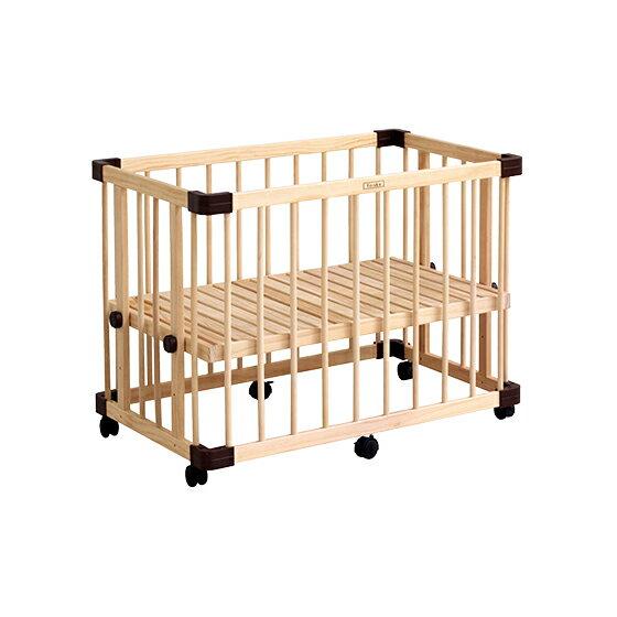 【預購-預計9月中到貨】日本 farska 溫婉木質多功能嬰兒床(中)(95x65x65cm)好窩生活節