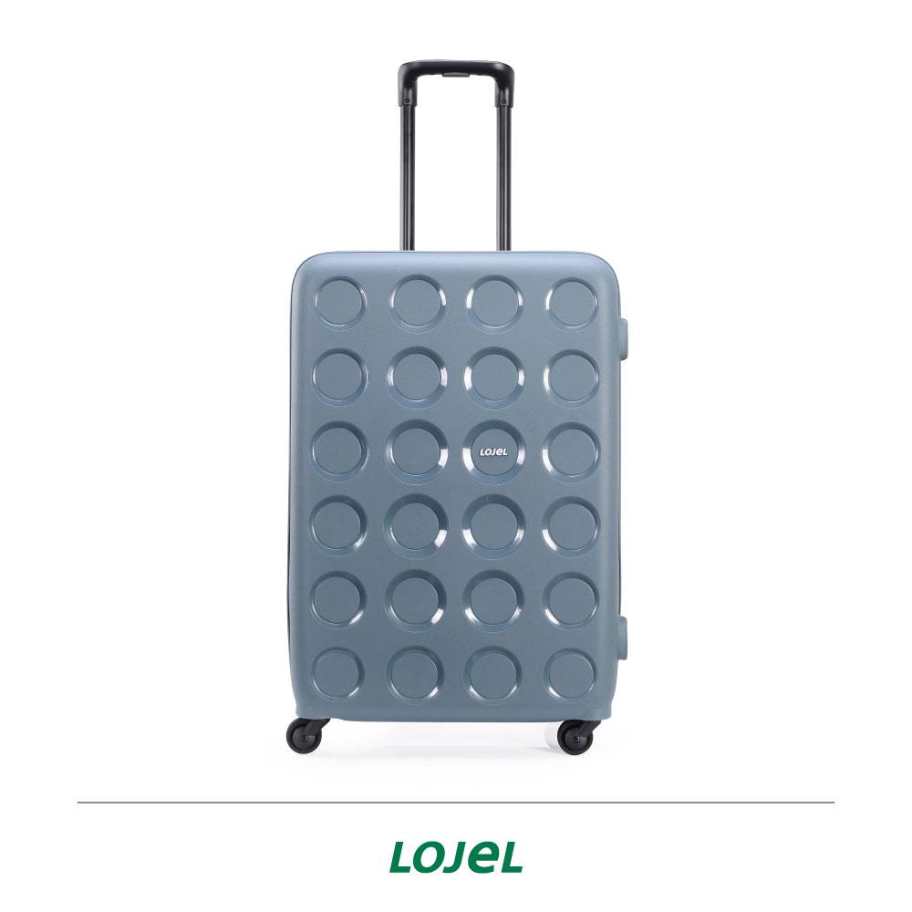 【加賀皮件】CROWN LOJEL VITA系列 多色 圓圈 拉鍊 旅行箱 28吋 行李箱 PP10