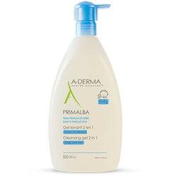 A-DERMA 艾芙美 燕麥新葉寶貝洗髮沐浴精500ml (2019新包裝) 2021/04到期