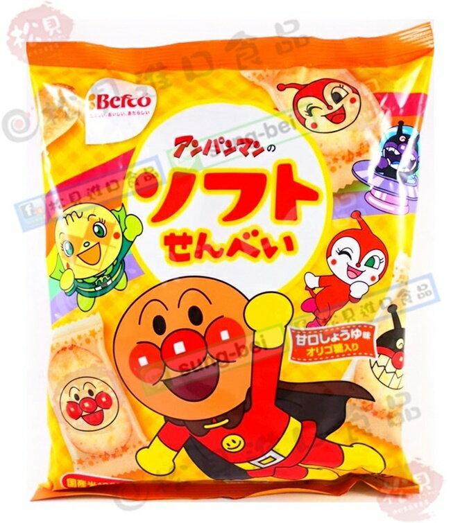 《松貝》栗山麵包超人軟米果101g【4901336110530】