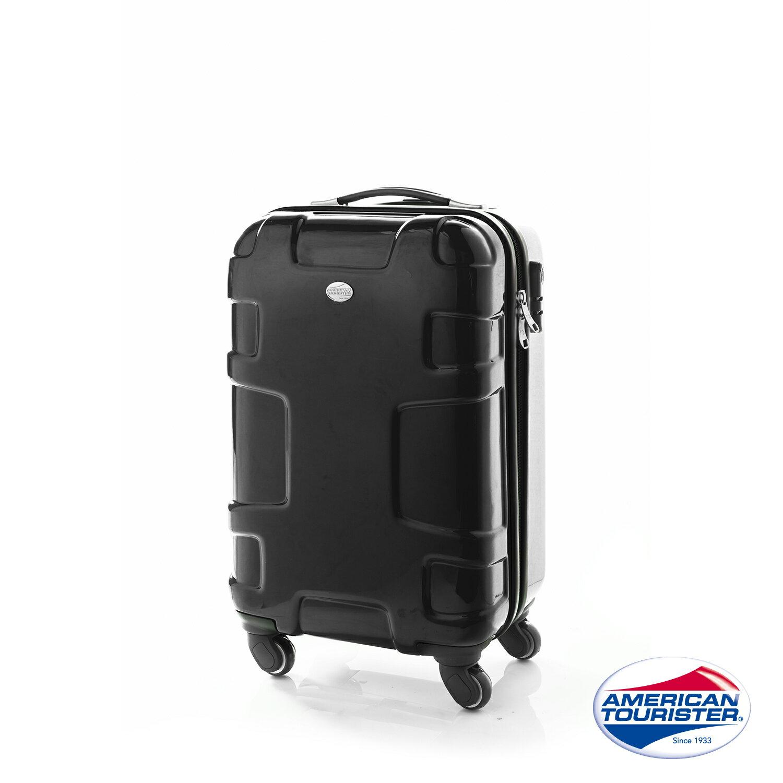 【福利品】AT美國旅行者 Puzzle Lite變形金剛硬殼四輪行李箱25吋 (黑)