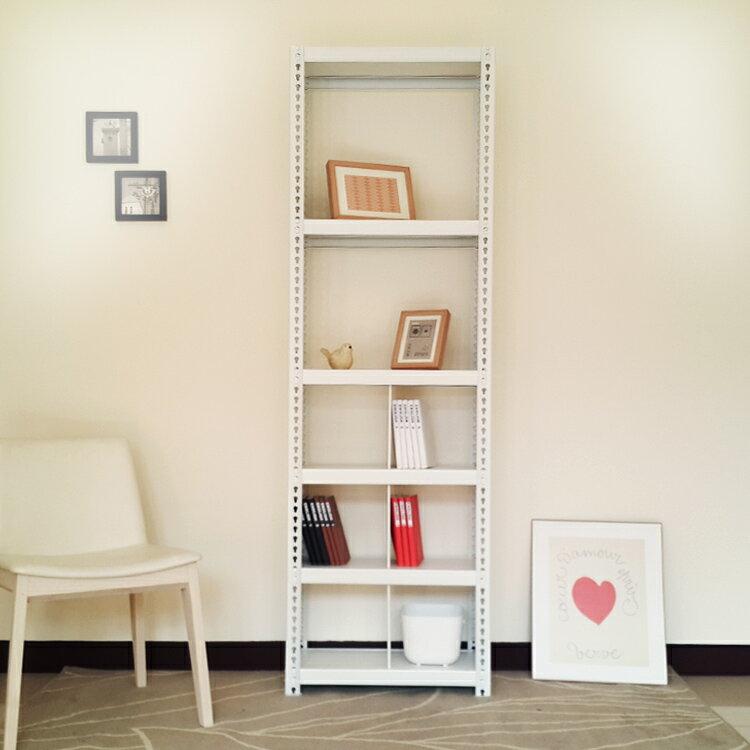 [DIY層架]分層分格收納整理架(二層+六格195高60寬40深cm)/層架、收納架、置物架、整理架、鞋架、衣架、書架