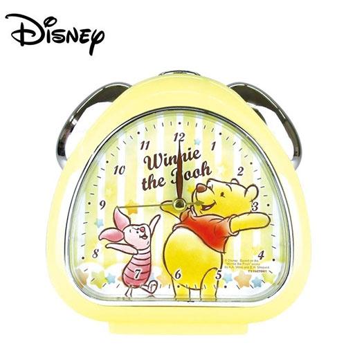 【日本正版】小熊維尼 鬧鐘 造型鐘 指針時鐘 夜燈設計 迪士尼 Disney - 067060