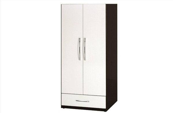 【石川家居】828-05(胡桃白色)衣櫥(CT-112)#訂製預購款式#環保塑鋼P無毒防霉易清潔