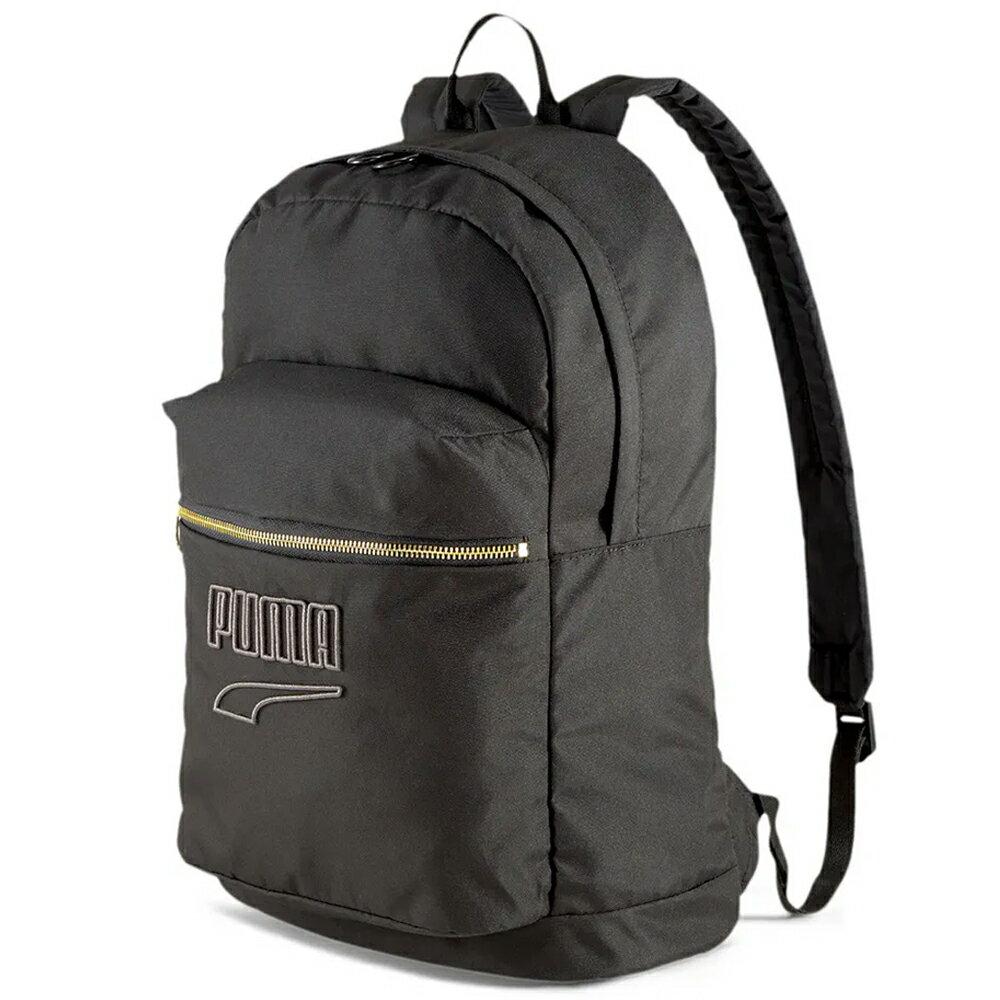 PUMA Prime Classics College 後背包 雙肩 休閒 拉鍊 黑【運動世界】07739901
