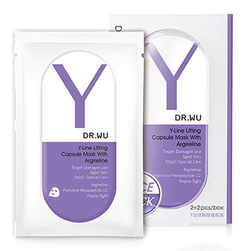 DR.WU Y型頸顏膠囊面膜3PCS (Y)【淨妍美肌】