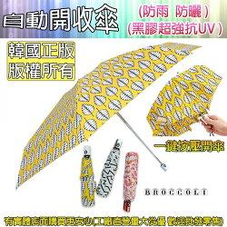 興雲網購【56008-189自動黑膠開收傘】韓國正版自動開收傘 折疊傘 抗UV傘 迷你傘 膠囊傘 雨具 雨衣 雨傘