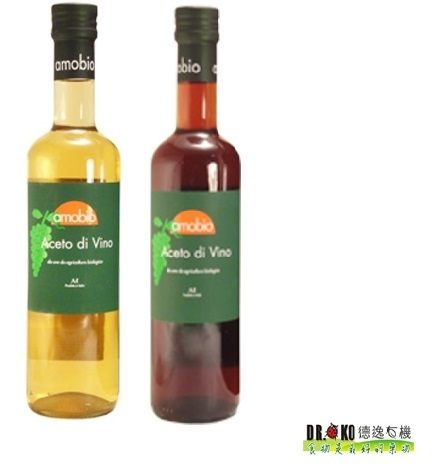DR.OKO德逸 義大利Modena 有機白酒醋/有機紅酒醋 500ml