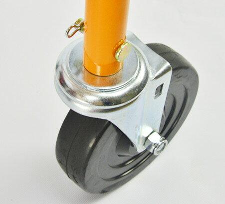 XLK Kabuto獨角仙 獨輪搬運車用輔助輪(兩個一組)