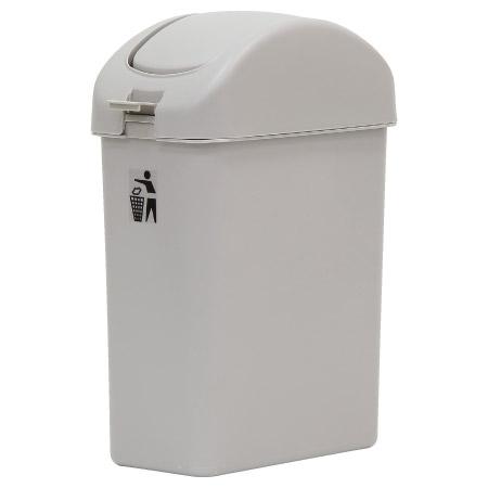 掀蓋垃圾桶 中天王紙林 灰 BI-5215