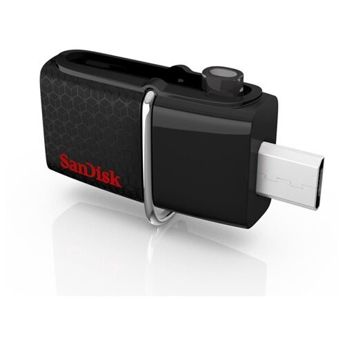 SanDisk 32GB USB 3.0 to microUSB 32G OTG Ultra Dual Flash Drive 150MB/s for Android smartphone tablet SDDD2-032G