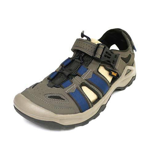 Teva 男 M OMNIUM 2 輕量 包趾 水鞋 耐磨 登山靴 TV1019180BNGC 藍 橄欖綠[陽光樂活]