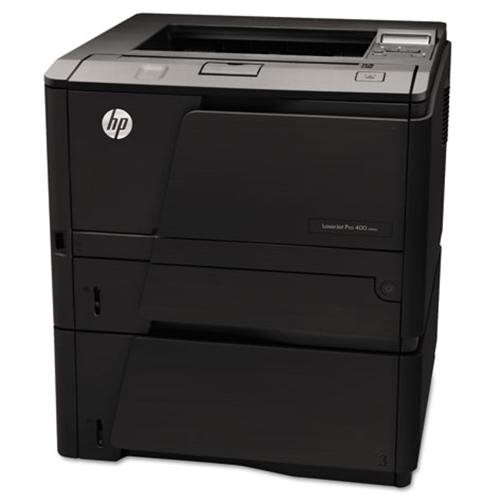 HP LaserJet Pro 400 M401N Laser Printer - Monochrome - 1200 x 1200 dpi Print - Plain Paper Print - Desktop - 35 ppm Mono Print - 300 sheets Standard Input Capacity - 50000 Duty Cycle - Manual Duplex Print - LCD - Ethernet - USB 2