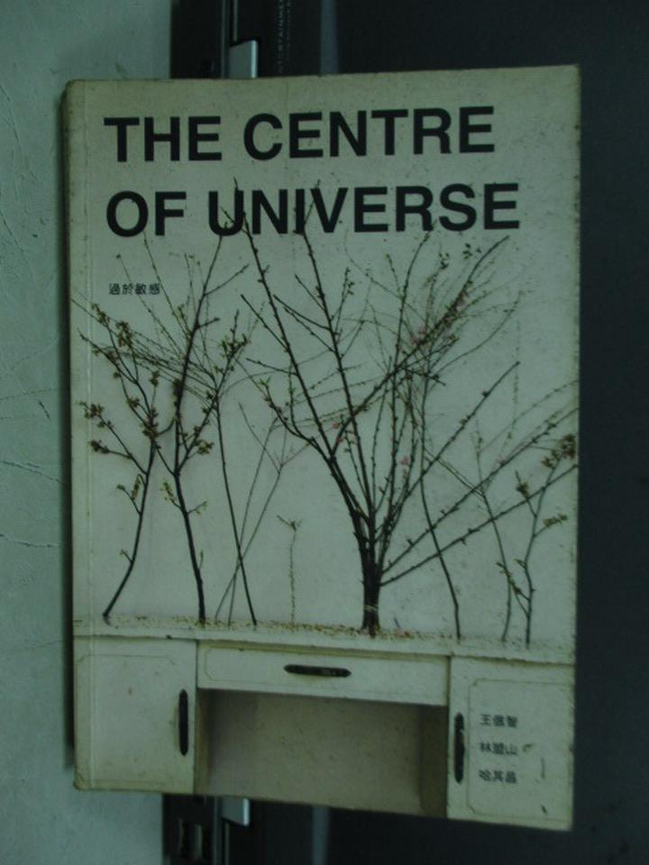 ~書寶 書T5/藝術_IRH~The centre of universe過於敏感_王信智