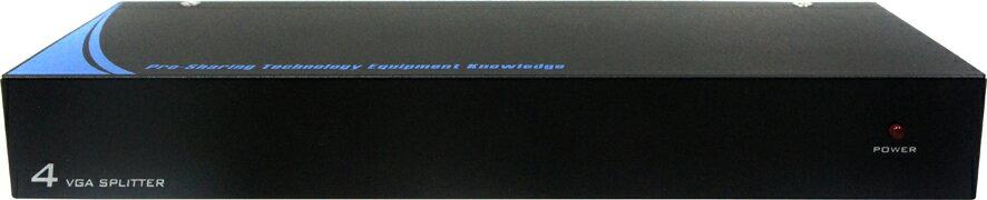 AviewS-4 PORT螢幕分配器 / 外型金屬材質 / PSTEK VP-104 0