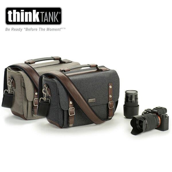 ◎相機專家◎ThinkTankSignature10尊爵系列郵差包1機3-4鏡10吋平板灰綠TT374公司貨