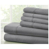 Home Collection Premium Ultra Soft 6 Piece Bed Sheet Set