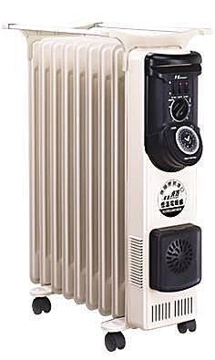 NORTHERN北方 9葉片式恆溫定時電暖爐/電暖器/暖手器/暖暖包 NP-09ZL