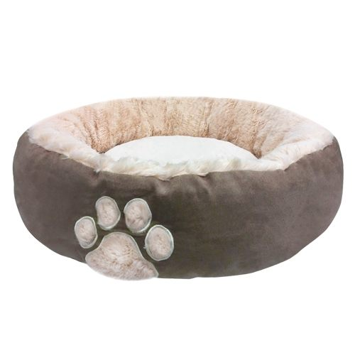 【雙12 SUPER SALE整點特賣12 / 2 15:00】《寵物睡床》狗腳印溫暖寵物床窩(2色) / 貓窩貓床 / 狗窩狗床 / 寵物床墊 3