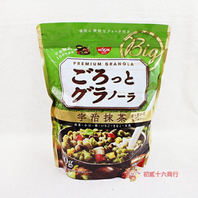 【0216零食會社】日本日清_宇治抹茶麥片500g