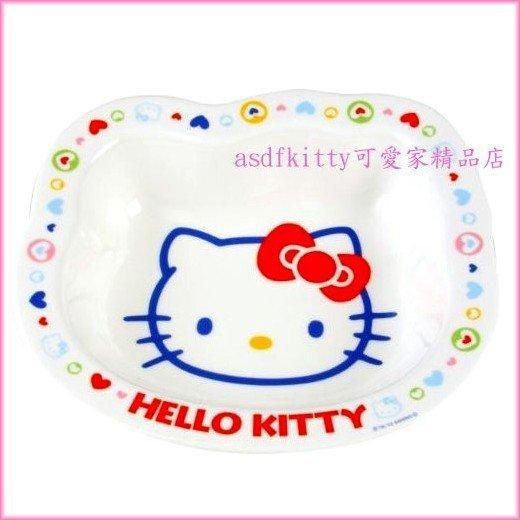 asdfkitty可愛家☆KITTY愛心系列深瓷盤/沙拉盤-深皿-JS140-1-日本製