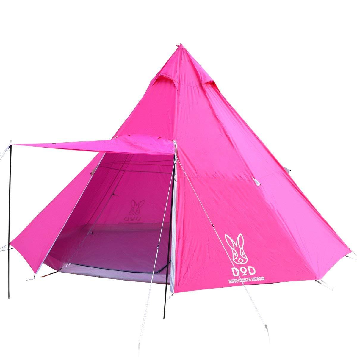 日本 DOPPELGANGER  / DOD 營舞者印地安八人帳 /  露營帳篷 / T8-200。1色-日本必買 日本樂天代購(25920*11)。件件免運 2