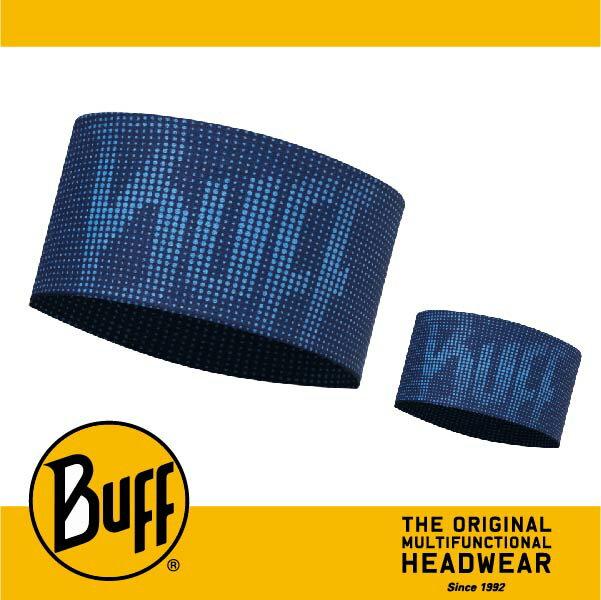 BUFF 西班牙魔術頭巾 頭帶 帽子&頭帶 COOLMAX涼感抗UV系列 [海軍藍紋] BF113652-790-10-00