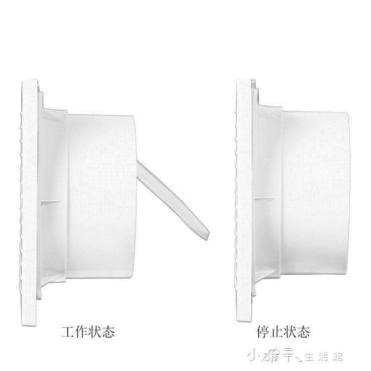 萬途6寸排氣扇圓形廁所抽風機家用衛生間浴室玻璃窗式通風換氣扇YYJ 概念3C