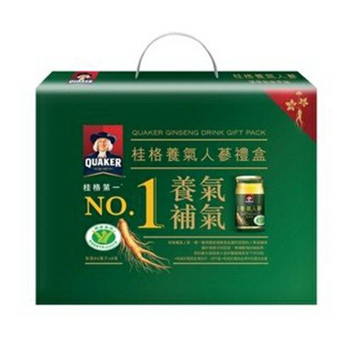 桂格 養氣人蔘禮盒60mlx 8瓶裝