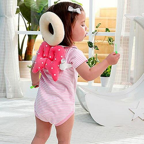 潘朵拉綠色生活概念館:【親親寶貝】頂級棉柔Q彈嬰兒護頭枕護頸枕_寶寶學步防撞安全守護