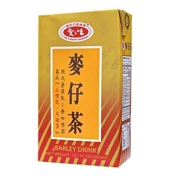 【免運直送】愛之味麥仔茶300ml (24罐/箱) -01【合迷雅好物商城】
