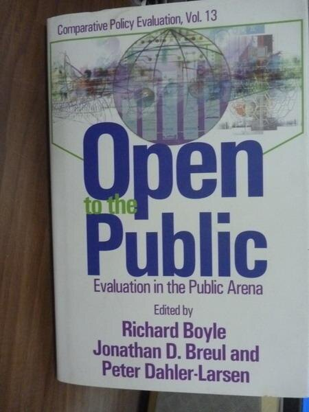 ~書寶 書T3/原文書_QLE~Open To The Public_Boyle