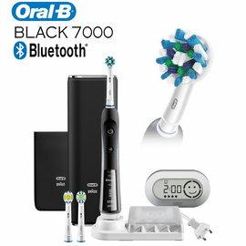 ★106/3/31前限量送好禮!  德國百靈Oral-B  藍芽白金電動牙刷  P7000 B/尊爵黑