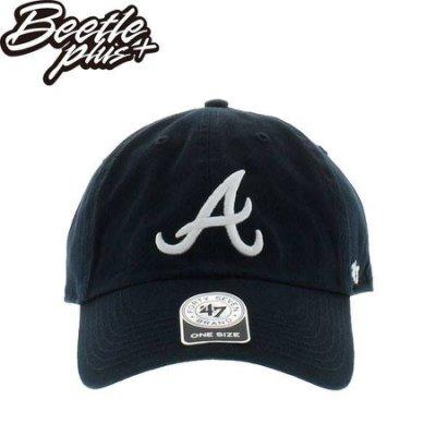 BEETLE PLUS 47 BRAND 老帽 亞特蘭大勇士 ATLANTA BRAVES MN-426 DAD 大聯盟 MLB 深藍 白