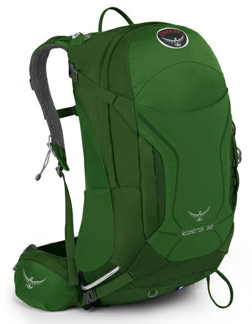 【露營趣】中和 附頭燈手電筒 美國 Osprey Kestrel 32公升 登山背包 健行背包 自助旅遊背包