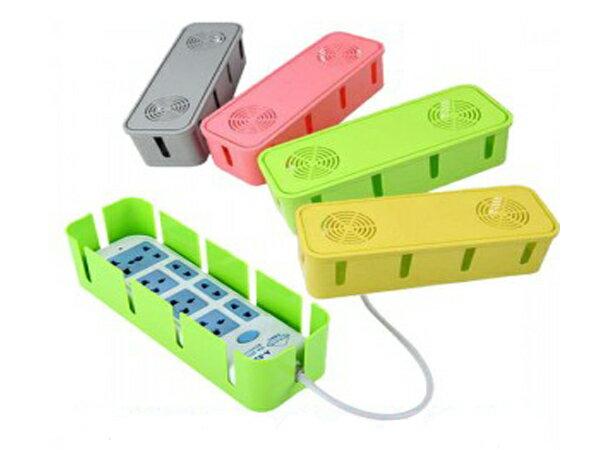 BO雜貨【SV6118】散熱孔電線集線盒 電源線插座插頭收納盒 電線 插座 繞線器 集線器 收納箱 置物盒