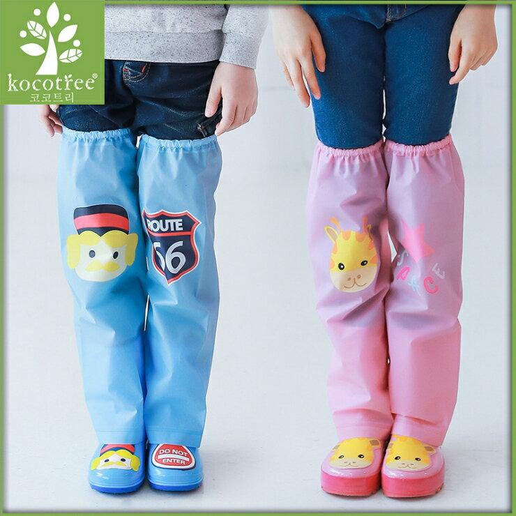 Kocotree◆ 雨天必備時尚可愛防水卡通腳套過膝雨鞋套兒童腿套