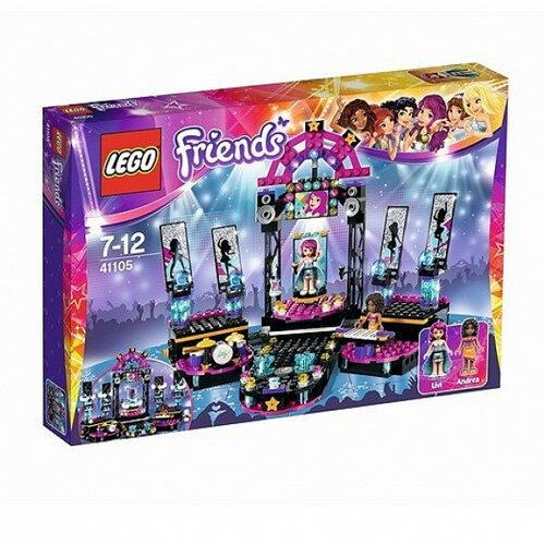 【LEGO 樂高積木】Friends 好朋友系列 - 大明星星光舞台 LT-41105