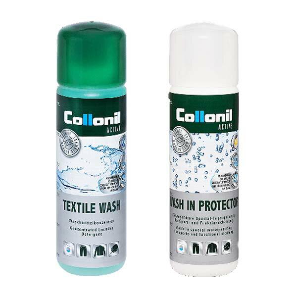 《台南悠活運動家》COLLONIL德國衣物清洗劑+浸泡式防潑水劑(兩瓶一組)CL7355