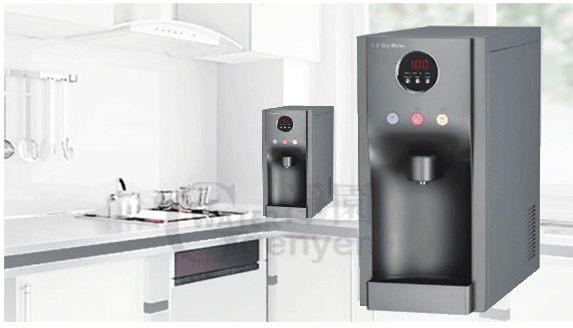 HM190冰冷熱三溫飲水機(內置四道RO逆滲透)(彩黑色●桌上型飲水機)HS190/HM-190