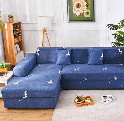 沙發套 四季款簡約現代 一二三貴妃組合沙發套 沙發罩L型組合 全包萬能套