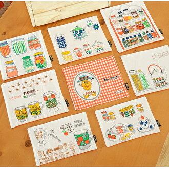 日系鄉村風居家廚房 餐巾 棉麻布藝餐墊 桌布 桌墊/單售