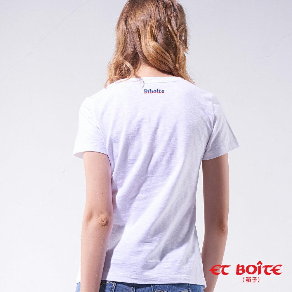 【網路獨家↘$990】ET Amour遊玩太空娃短TEE- BLUE WAY ET BOîTE 箱子 2