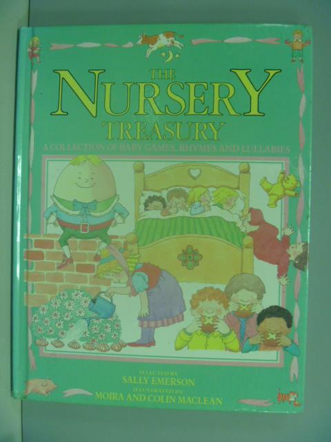 【書寶二手書T9/兒童文學_ZAX】The Nursery Treasury_Sally Emerson