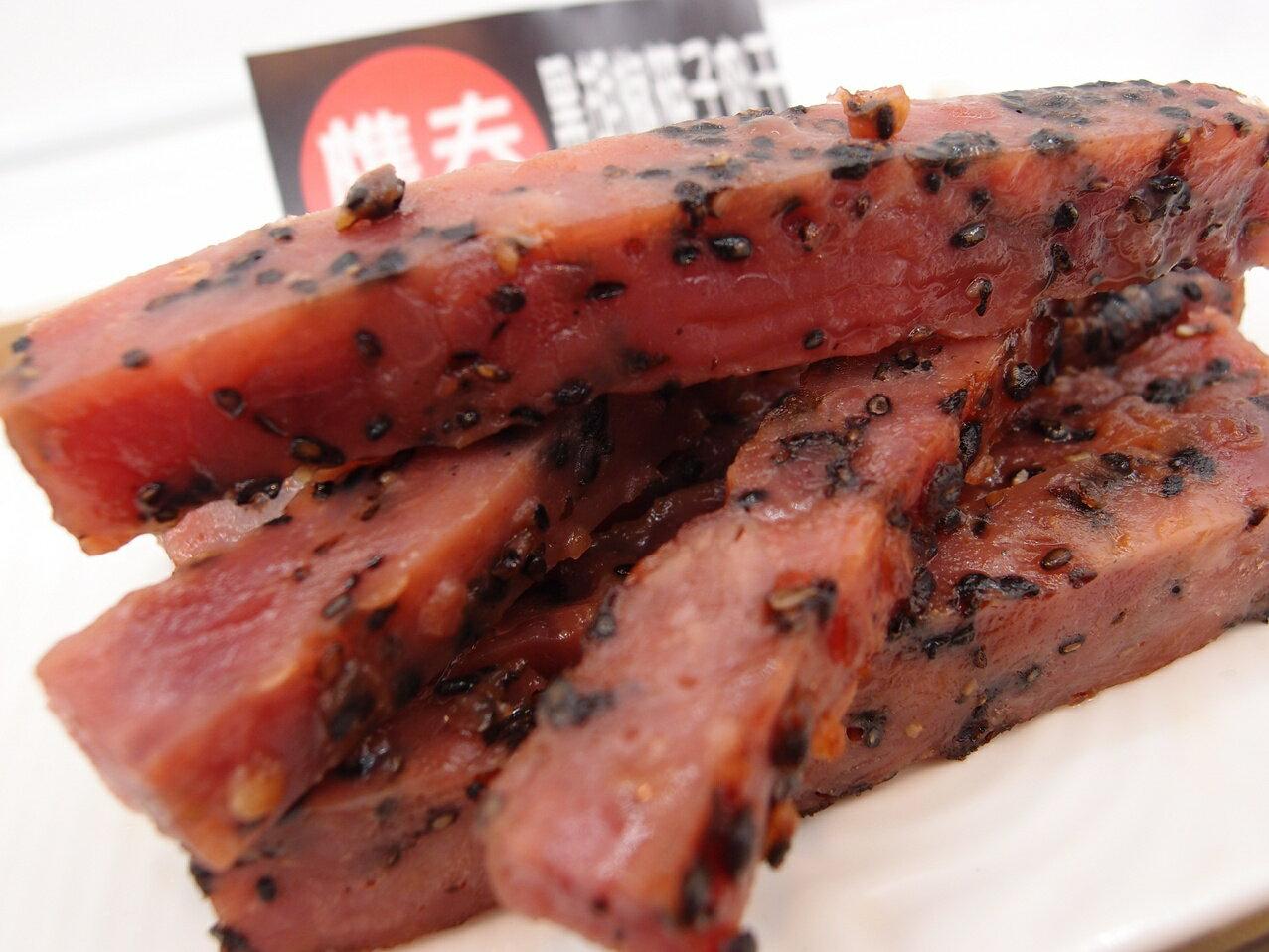 樵夫 黑胡椒-筷子肉干