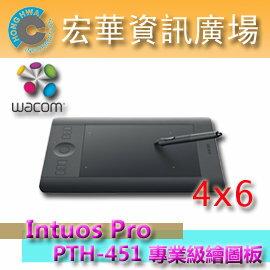 ☆宏華資訊廣場☆ Wacom Intuos Pro Small PTH-451/K0-C?加贈筆盒 專業級數位繪圖板 公司貨
